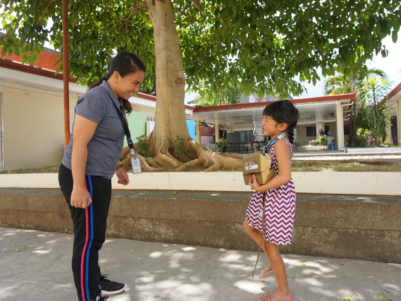 親子留学、子供のレッスンもバリエーション豊か
