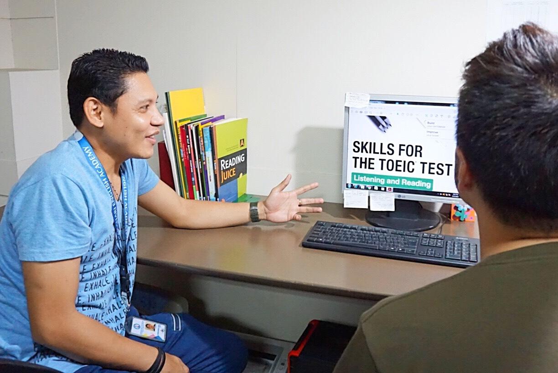 TOEIC,TOEFLなど対応のビジネス英語を学べるコースです