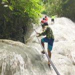 オスロブ、滝登りツアー、土日のアクティビティも楽しもう!