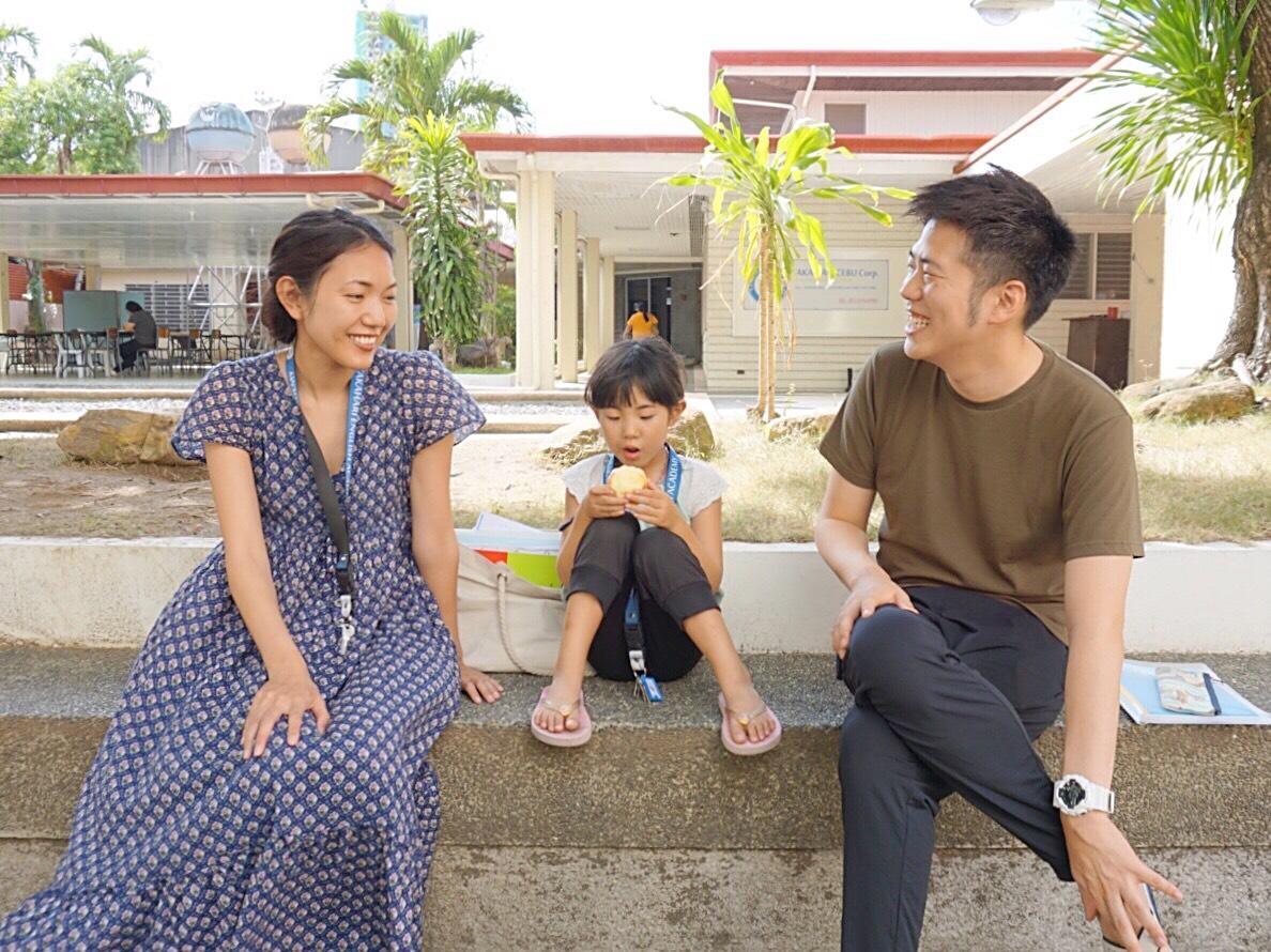 家族留学中のファミリー