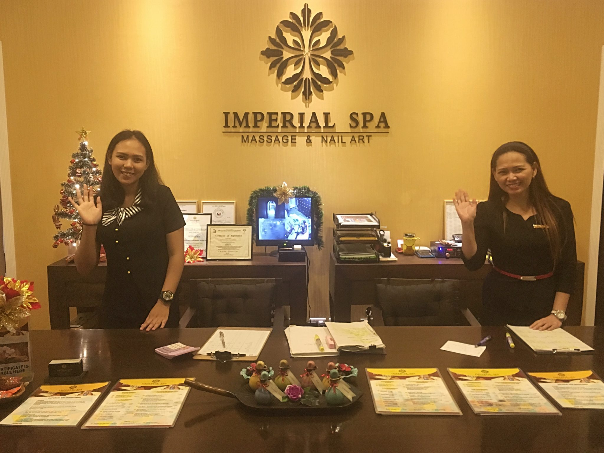 imperias Spa front