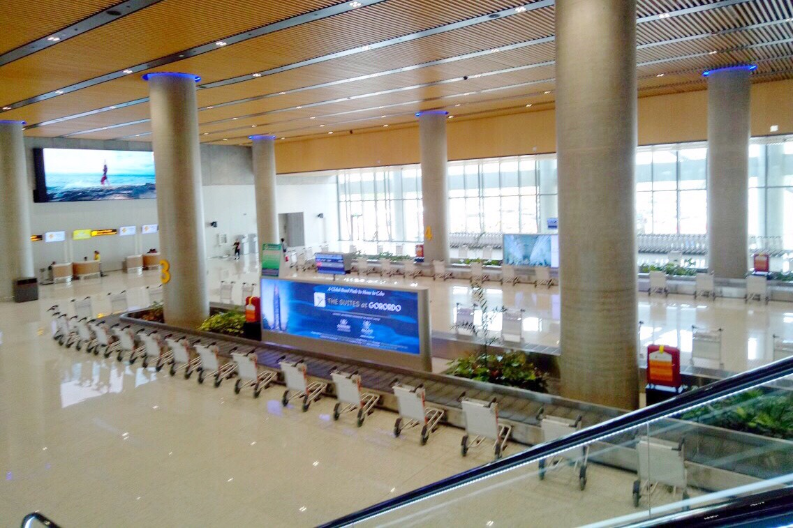New international terminal at Cebu Mactan Airport