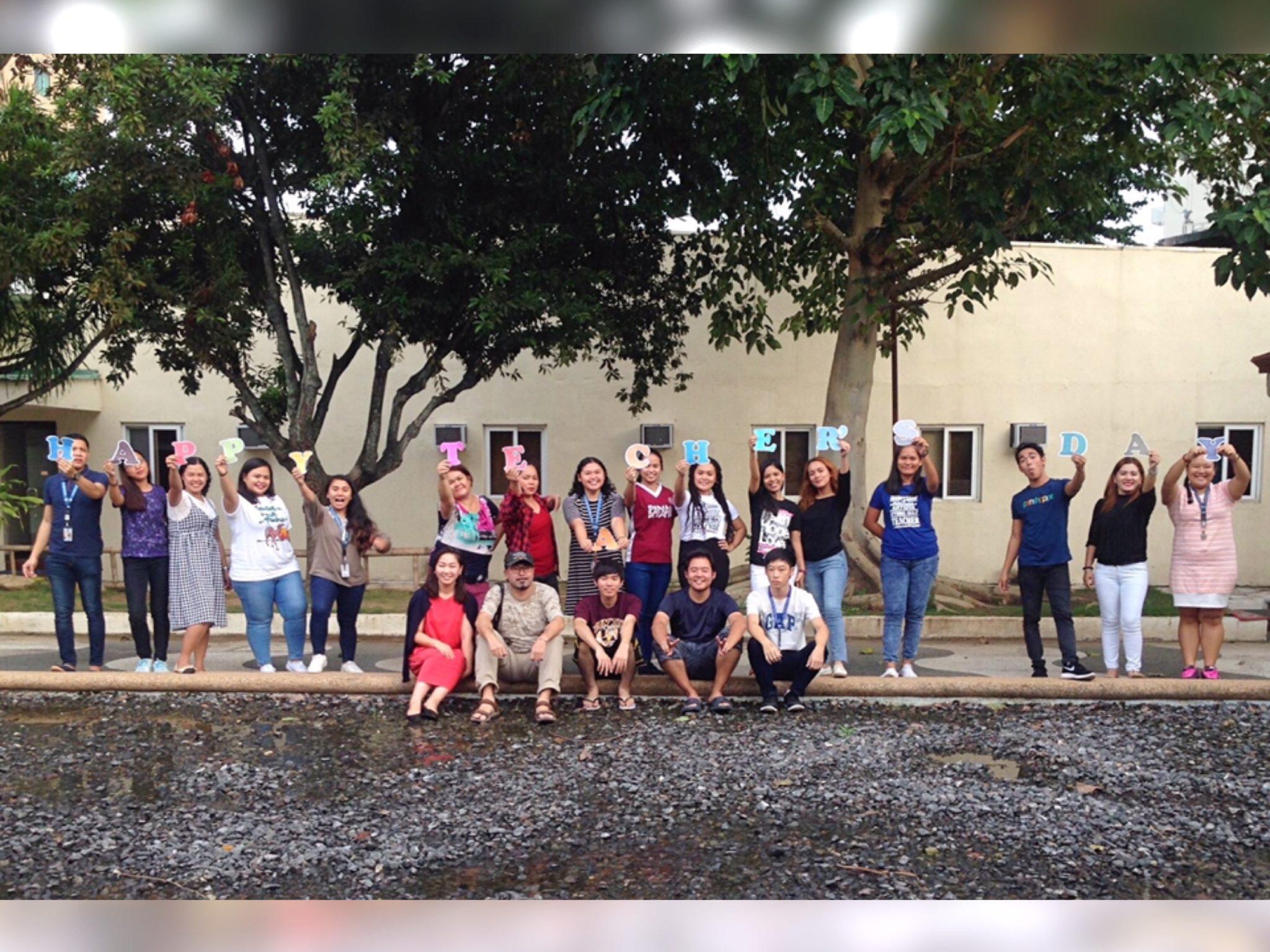 teacher's day(世界教師デー)のタカハリイングリッシュアカデミー
