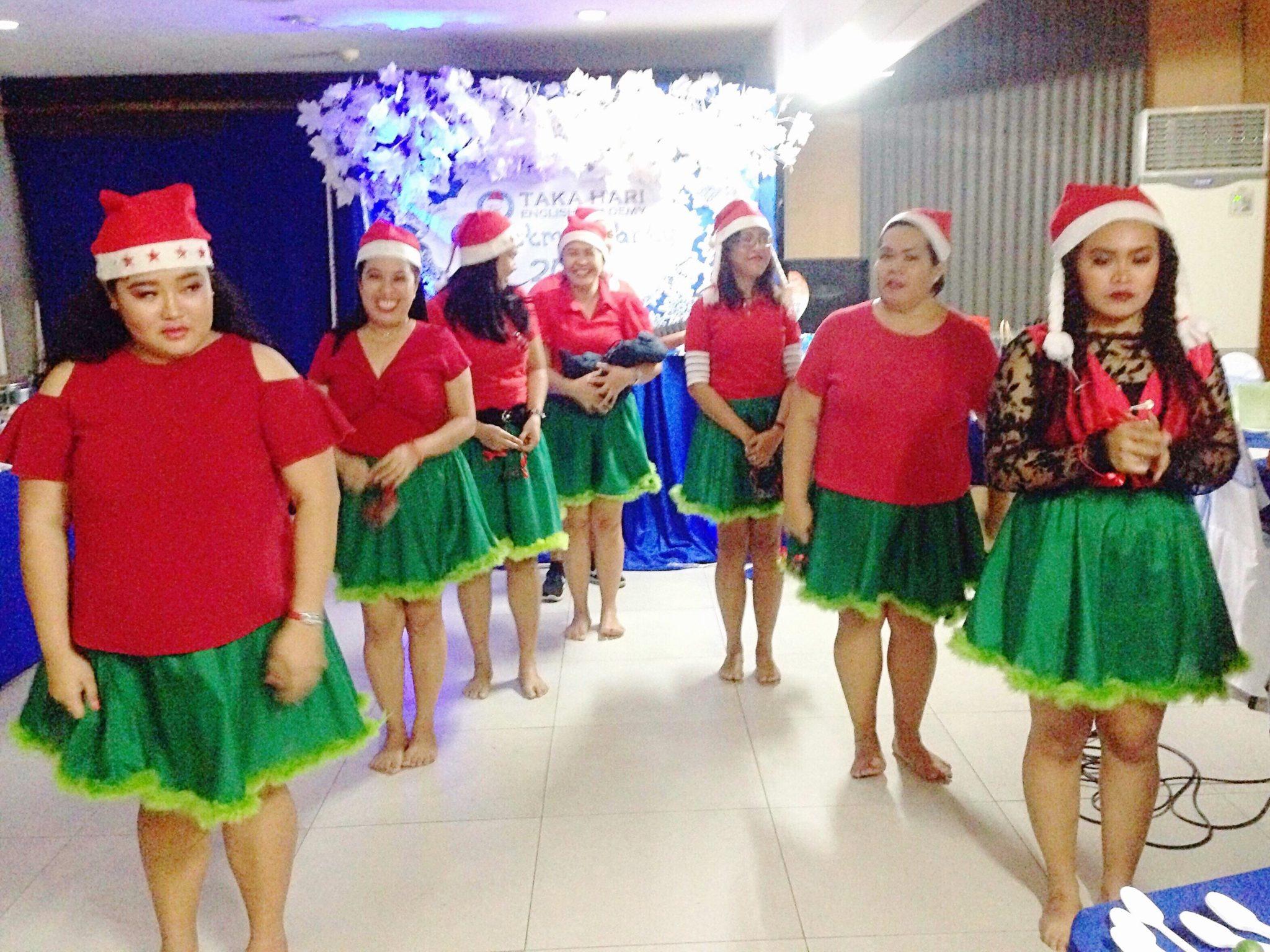タカハリイングリッシュアカデミーのクリスマス