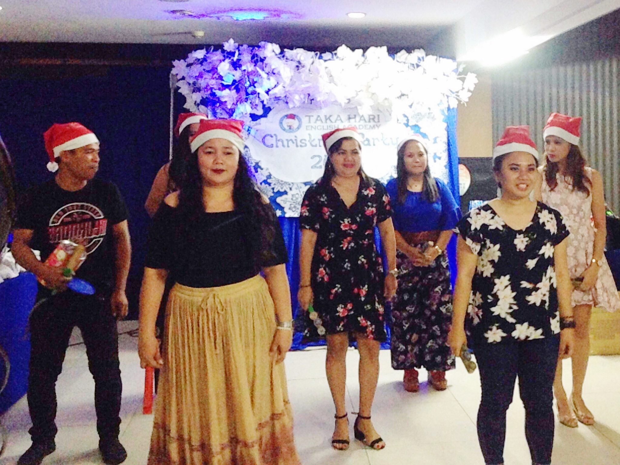 Takahari English Academy's Christmas party