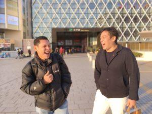フィリピン人講師Alfie(アルフィー)初めての日本訪問