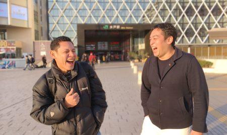 Japan|Alfie 先生が日本初訪問!