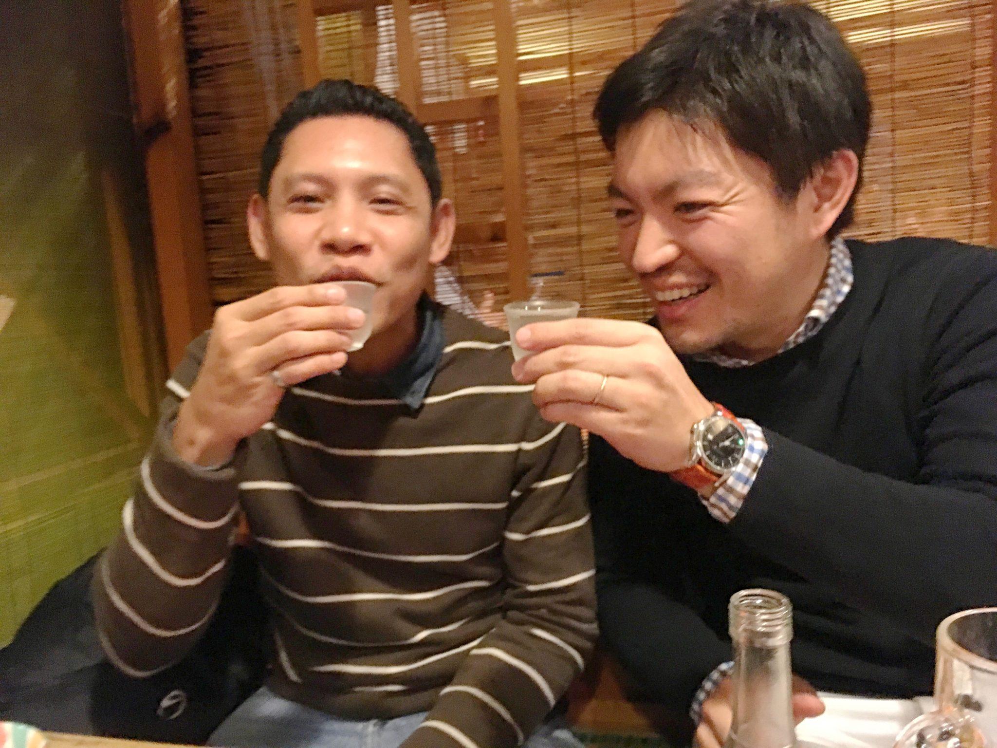 フィリピン人講師Alfie(アルフィー)、CEO今藤貴茂、日本訪問
