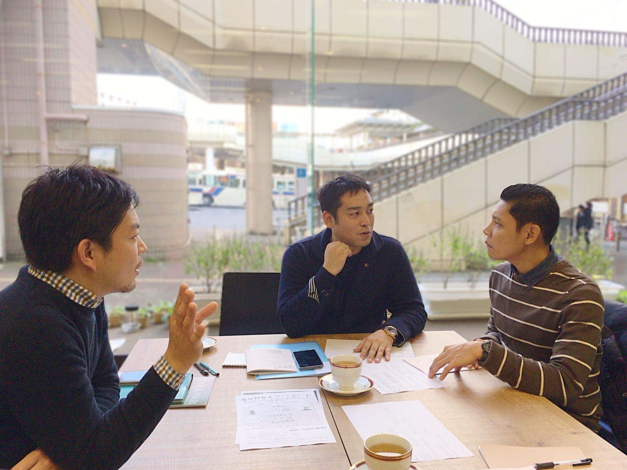 フィリピン人講師Alfie(アルフィー)、CEO今藤貴茂、Rember代表 前川航太朗氏