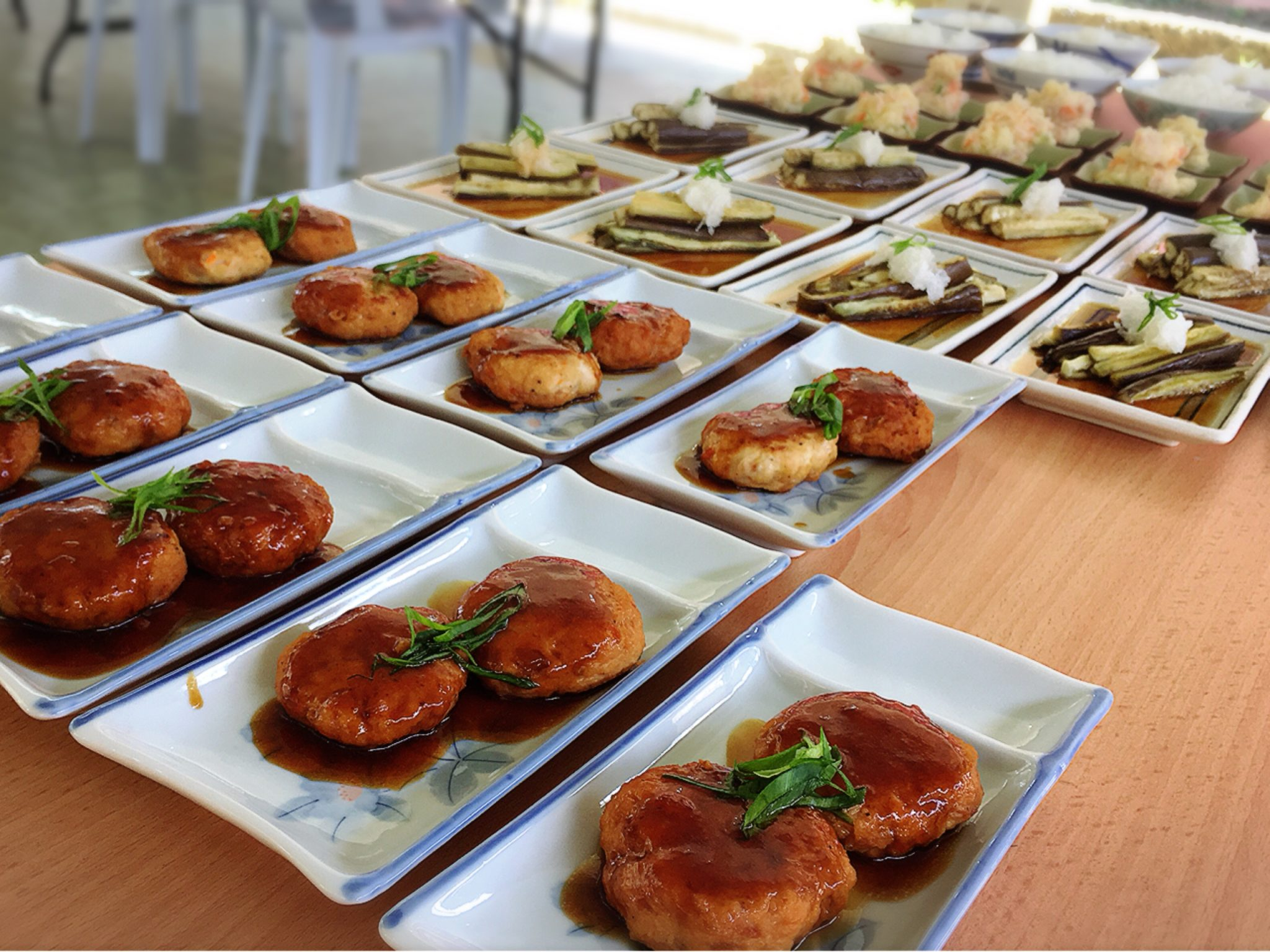 日本食、栄養バランス満点、美味しい、おいしい、ランチ、ハンバーグ